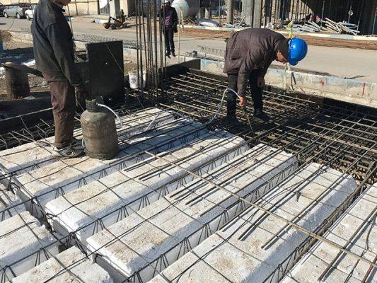 آرماتوربندی سقف تیرچه بلوک و اجزای سقف