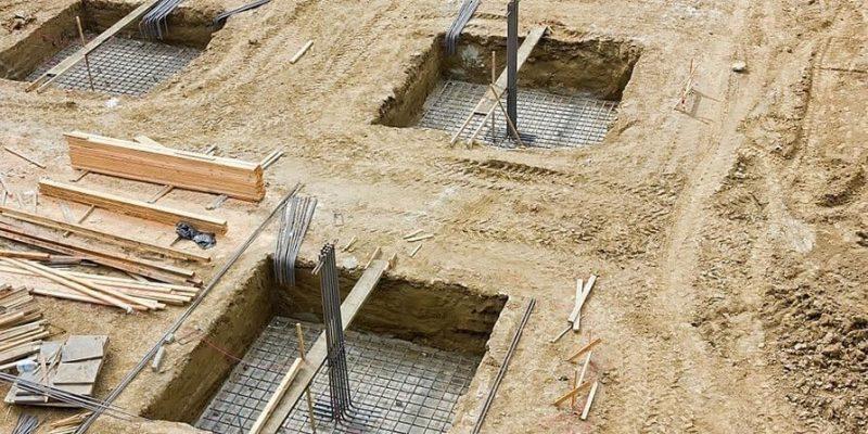 پی در ساختمان سازی